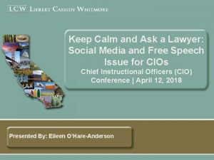 Keep Calm and Ask a Lawyer Social Media