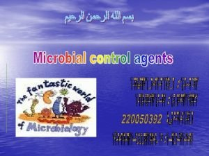 Microbial control of postharvest diseases has been one