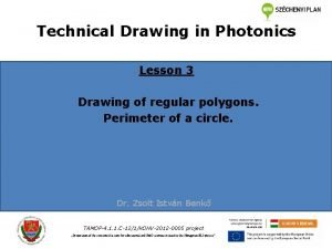 Technical Drawing in Photonics Lesson 3 Drawing of