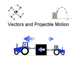Vectors and Projectile Motion Vectors are usually written