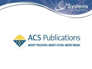 American Chemical Society Fundada em 1876 a American