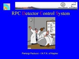 RPC Detector Control System Pierluigi Paolucci I N