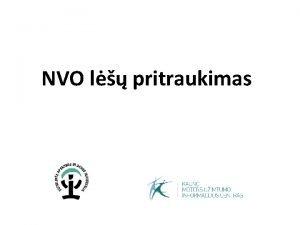 NVO l pritraukimas Fondo paieka Fondo paieka Palanvimas
