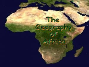 A Satellite View Africas Size 4600 MILES 5