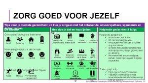 ZORG GOED VOOR JEZELF Tips voor je mentale