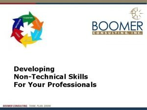 Developing NonTechnical Skills For Your Professionals Agenda Developing