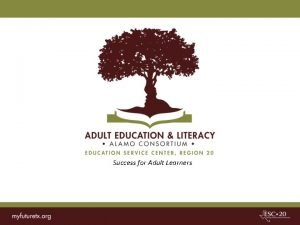 Success for Adult Learners Contextualized Learning through AEL