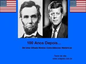 100 Anos Depois D Uma Olhada Nestas Coincidncias