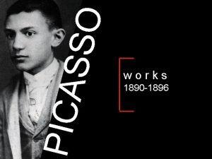 SSO PICA works 1892 1896 1890 1896 PICA