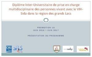 Diplme InterUniversitaire de prise en charge multidisciplinaire des