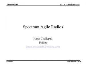 November 2004 doc IEEE 802 11 03xxxr 0