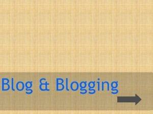Blog Blogging Apa itu blog Blog About Post