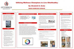 Utilizing Wellness Champions to Live Ohio Healthy By