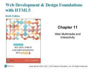 Web Development Design Foundations with HTML 5 Ninth