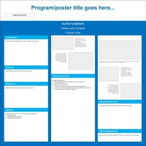 Programposter title goes here Logo goes here Authors