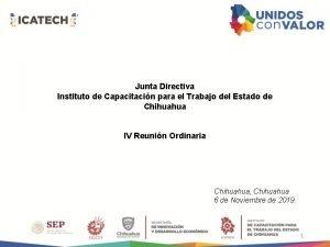 Junta Directiva Instituto de Capacitacin para el Trabajo