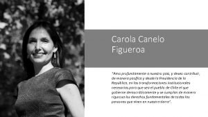 Carola Canelo Figueroa Amo profundamente a nuestro pas