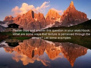 Please copy and answer this question in your