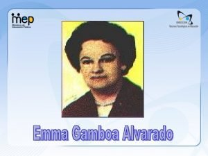 Contenido Biografa Referencias Vnculos Resonancia Biogrfica Emma Gamboa