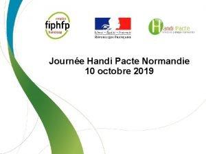 Journe Handi Pacte Normandie 10 octobre 2019 Programme