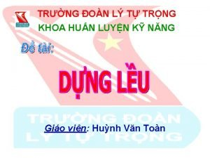 TRNG ON L T TRNG KHOA HUN LUYN