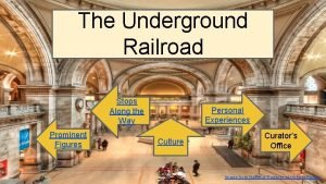 Museum Lobby The Underground Railroad Museum Lobby Stops