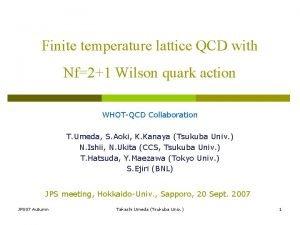 Finite temperature lattice QCD with Nf21 Wilson quark