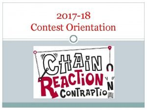 2017 18 Contest Orientation This Years Challenge h