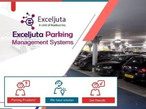 1 Exceljuta Parking Management System 2 Parking Management