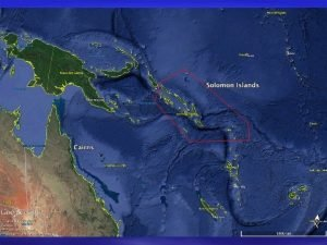 Solomon Islands Sea Cucumber Management Plan Long history