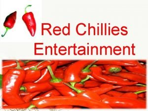 Red Chillies Entertainment Page 1 Page 2 Page