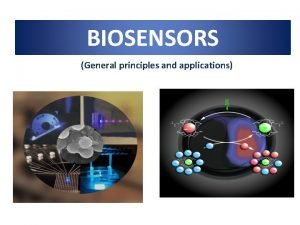 BIOSENSORS General principles and applications What is a