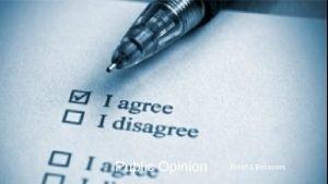 Public Opinion Belief Behaviors Beliefs Behaviors Public Opinion