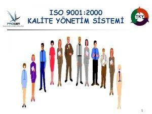 ISO 9001 2000 KALTE YNETM SSTEM 1 ISO