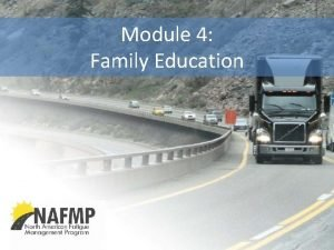 Module 4 Family Education Importance of Home Family