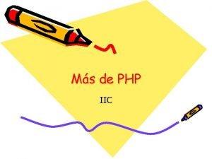 Ms de PHP IIC Cookies Las cookies son