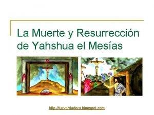 La Muerte y Resurreccin de Yahshua el Mesas