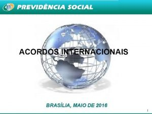 BRASLIA MAIO DE 2016 1 LEI N 8