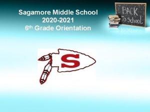 Sagamore Middle School 2020 2021 6 th Grade