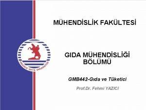 MHENDSLK FAKLTES GIDA MHENDSL BLM GMB 442 Gda