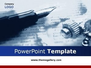 Company LOGO Power Point Template www themegallery com