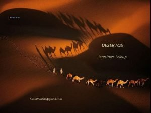 HAMILTON DESERTOS JeanYves Leloup hamiltonslidegmail com HAMILTON Deserto