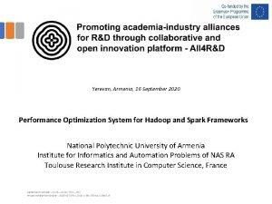 Yerevan Armenia 16 September 2020 Performance Optimization System