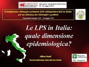 Il trattamento chirurgico primario delle labiopalatoschisi in Italia