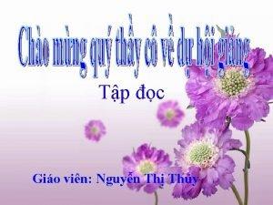 Tp c Gio vin Nguyn Th Thy m