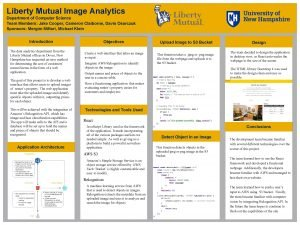 Liberty Mutual Image Analytics Department of Computer Science