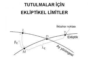 TUTULMALAR N EKLPTKEL LMTLER TUTULMALAR N EKLPTKEL LMTLER