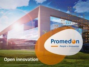 Open innovation Perfil de la Compaa Somos una