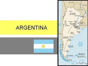 ARGENTINA South America What is tango Tango a