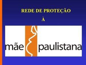REDE DE PROTEO SMS ACI CLIPPING REDE DE